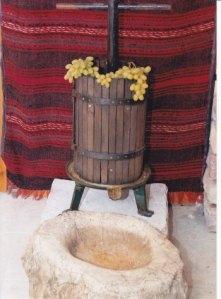 ΤΣΙΦΙΛΙΑ ΜΕ ΠΕΤΡΙΝΗ ΣΚΑΛΙΣΤΗ ΚΟΡΙΤΑ-Από το οικογενειακό παραδοσιακό μουσείο ΠΙΠΗ ΚΟΜΙΑΝΟΥ